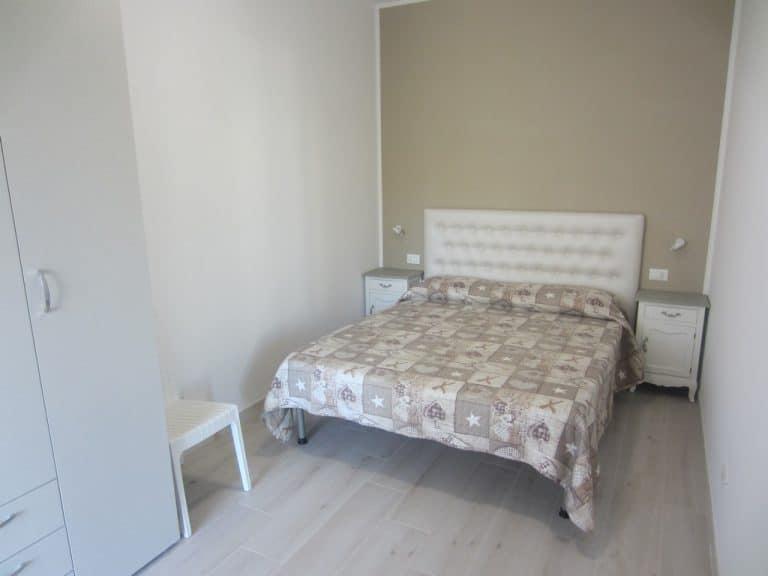 Camera matrimoniale appartamento bilocale deluxe