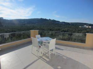 grande veranda con terrazzo panoramico