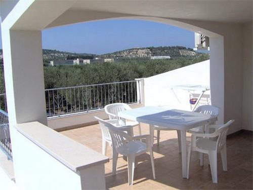 Veranda e ampio terrazzo panoramico