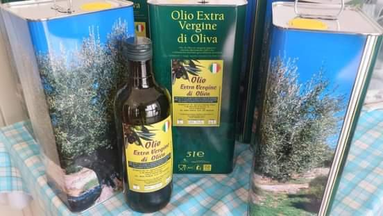 Lattina per spedizione olio di oliva